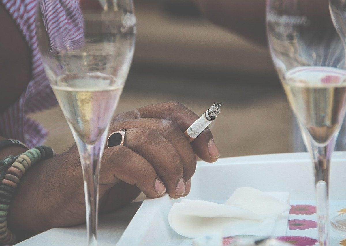Drinking and smoking